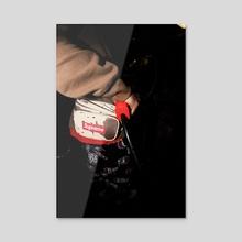 loaded gun - Acrylic by Payton Slay
