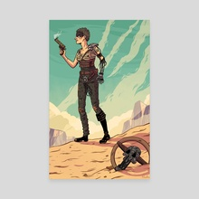 Furiosa - Canvas by Alaska S. Kellum