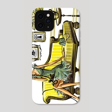 On the Phone - Phone Case by Jessica Warrick