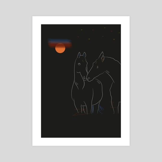 Under the moon by Streetillus