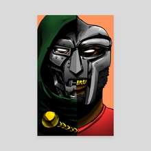 Dr.Viktor Von Doom - Canvas by Therrious Davis