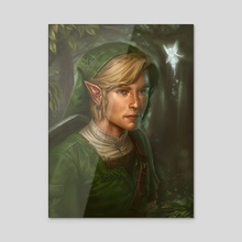 Link - Acrylic by Dudu Torres