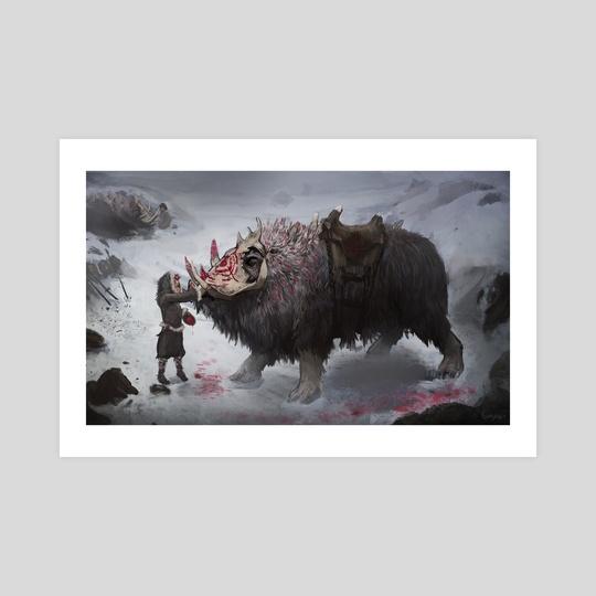 arcticwarbeast by Britney Winthrope
