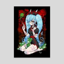 Zombie Nurse - Canvas by Patricia Pons