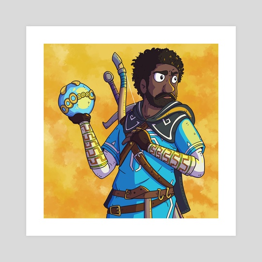 Childish Gambino x The Legend of Zelda by Matt Girouard
