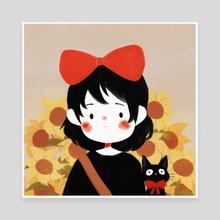tiny kiki - Canvas by Cinnamoonie ♡