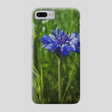 Blue Bachelor  - Phone Case by Ashley Gedz