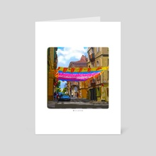 barcelona study - Art Card by Shalida