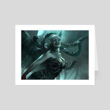 Visara The Dreadful - Art Card by Brad Rigney