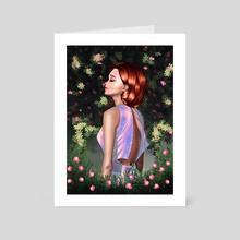 Breathe ll - Art Card by Mayada Elbeheiry
