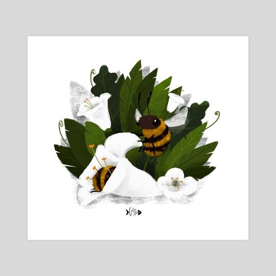 Bee Friendly by Augusto  Santana