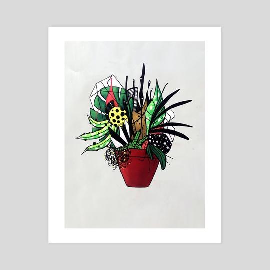 Plants series N 3 by Pablo Martinez
