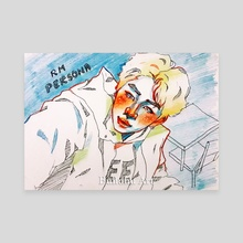 'Persona' Namjoon - Canvas by Buhuhu Art