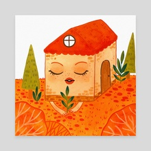 Little house - Canvas by vetvy