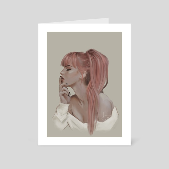 Pink hair by G G