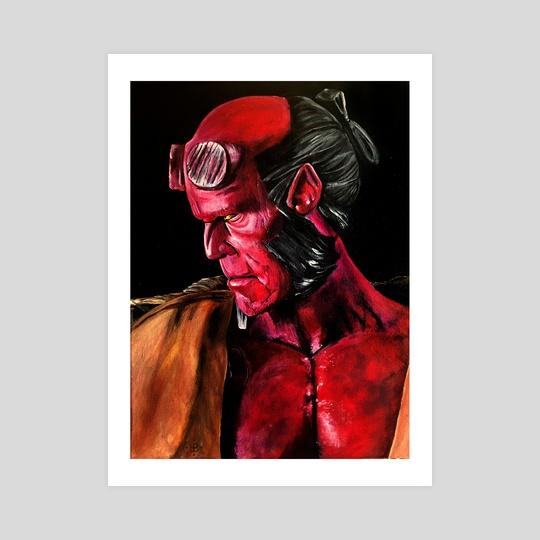 Hellboy Wrath by Lindsay Platoshyn