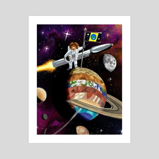 Outer Space by Demetrios Liollio