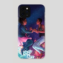 Stars & The Blackness Between Them - Phone Case by Laya Rose