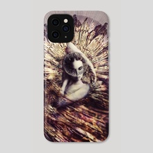 THE VEIL OF FIRE - Phone Case by Gabor Paszti