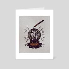 Sorcerer - Art Card by Devin Forst
