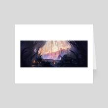 The Rising Light - Art Card by Daniel Wachter