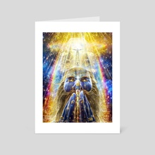Blessed Visions - Art Card by Louis Dyer