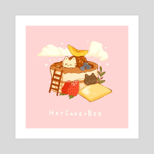 Hot Cake Bed by Nadia Kim