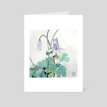 Columbine - Art Card by Keezy Young