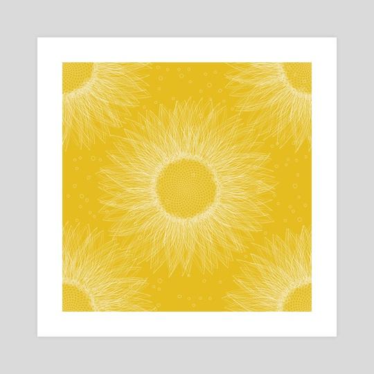 Sunflower by Richard Laschon