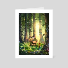 Are you lost? - Art Card by Lulu Chen