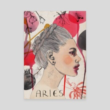Aries  - Canvas by Rebecca Bradley