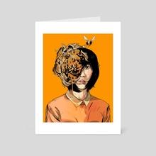Beehive - Art Card by Alexander Wells