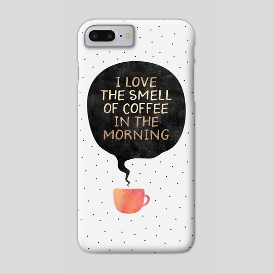 I Love the smell of coffee in the morning by Elisabeth Fredriksson