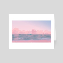 Sea - Art Card by Xharr Quiso