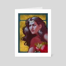 Diana - Art Card by Mali Ware
