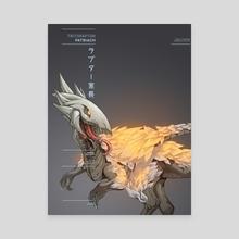 Tritoraptor Patriarch - Canvas by Monothetic LLC