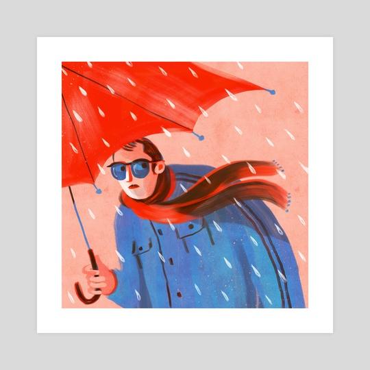 Rainy Day 1 by Shahar Kober