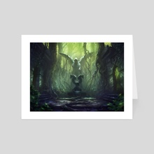 MTG - Verdant Catacombs (Secret Lair) - Art Card by Sam Burley