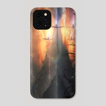 Arriving to Earth - Phone Case by Mireia Fdz