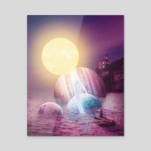 Plenty of Space - Acrylic by Tony X Visuals