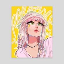 Hayley - Canvas by Lauren Briggs