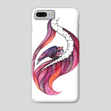 Gazing Out The Window - Phone Case by Jessica McGrath