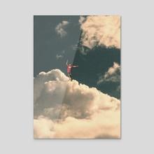 On edge - Acrylic by Nikola Miljkovic