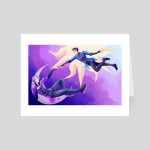 Yuri On Ice - Art Card by Esther Roach