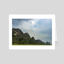 Mountain Frequency. - Art Card by Parag Phadnis