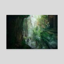 Skyworld - Canvas by Jonathan Lam