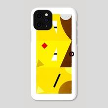 PKMNML #063-065 Abra - Alakazam - Phone Case by Matt Vee