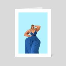 Blue - Art Card by Pierre Rutz
