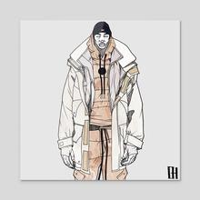 Kith - Acrylic by Ben Harrison
