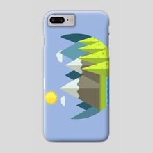 Mountain Breeze - Phone Case by Scarlett Owen